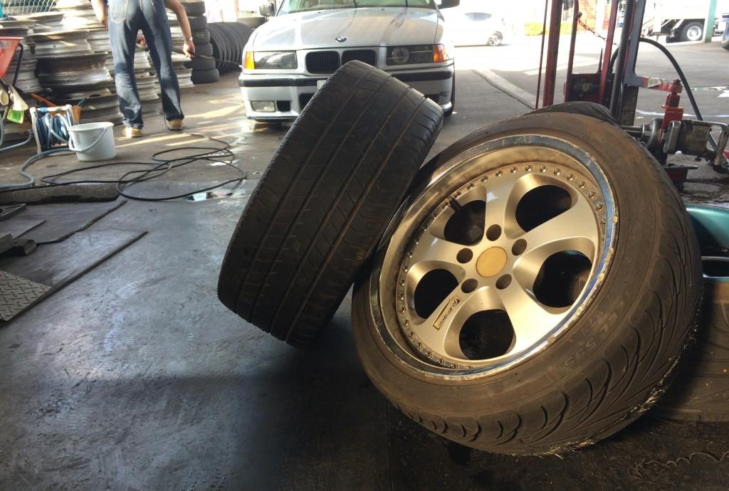 E36 洗車
